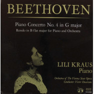 Lili Kraus, Orchestra Of The Vienna State Opera, Victor Desarzens - Beethoven Piano Concerto No. 4 in G major