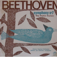 Willem van Otterloo, Vienna Festival Orchestra - Beethoven Symphony No. 7 in A major and King Stephen Overture