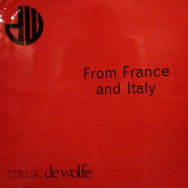 Reg Tilsley - From france and italy