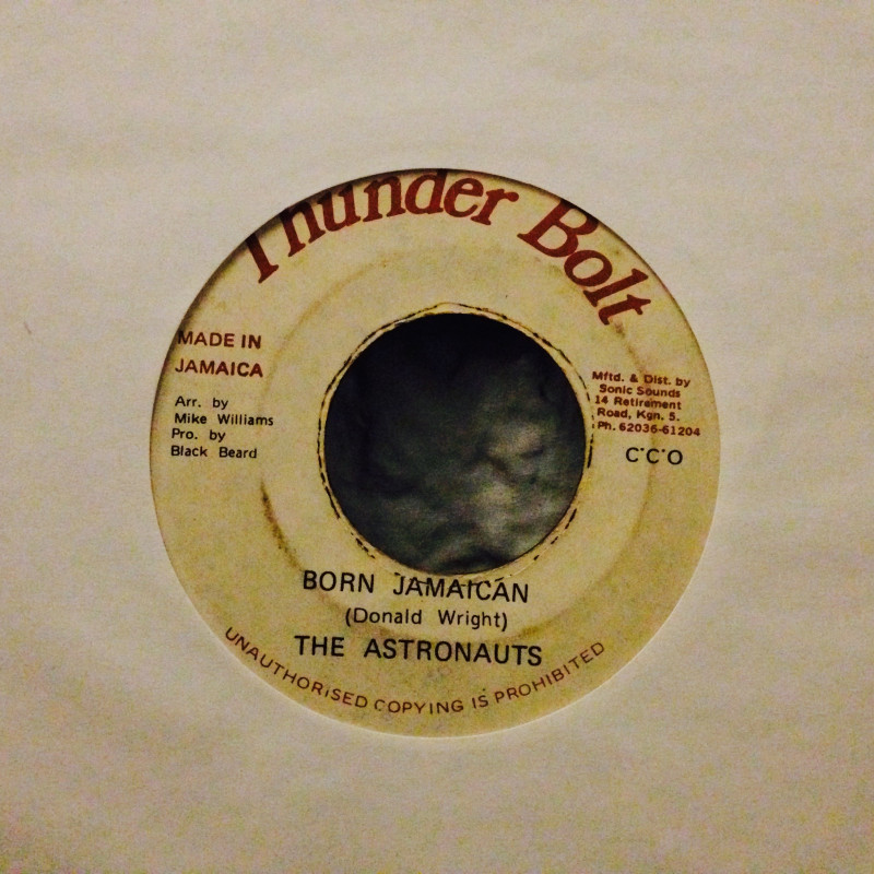 Astronauts, The Born Jamaican / Jamaican Version