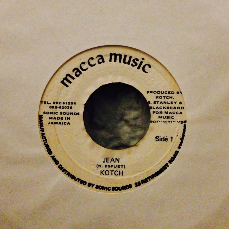Kotch Jean / In - space dub